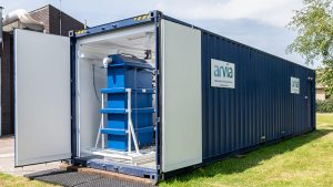 Arvia Nyex-a system containerised plant