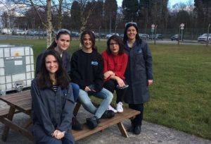 The female engineers at Arvia celebrate International Women's Day